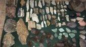Detienen a turistas chilenos con 230 piezas de bienes culturales argentinos | Foto: Prensa AFIP vía Los Andes