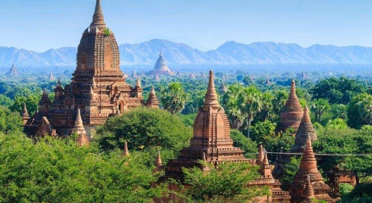 Bagan, en Myanmar, es uno de los lugares inscritos en Lista de Patrimonios de la Humanidad