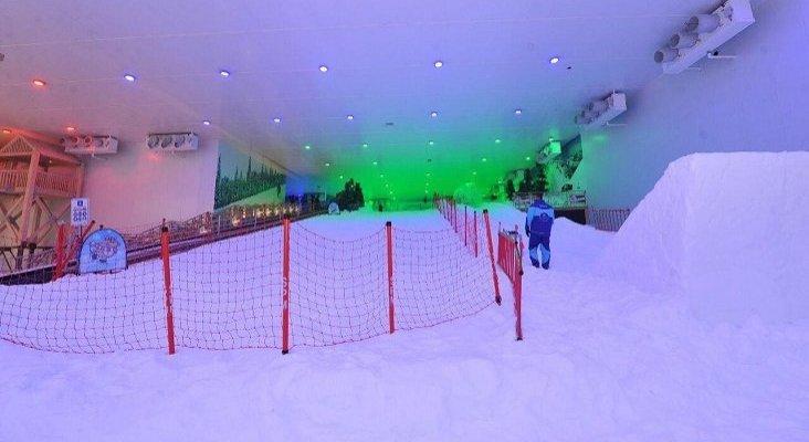 El esquí triunfa en Egipto, que abre su segundo centro de nieve | Foto: Lugares de Nieve