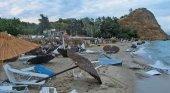 Una tormenta acaba con la vida de 6 turistas y deja más de 30 heridos en Grecia | Foto: ap vía lmneuquen.com