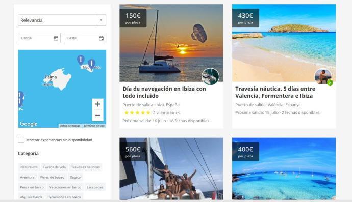 El modelo Blablacar se impone en el turismo náutico de Ibiza