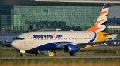 Avión de la aerolínea checa Smartwings