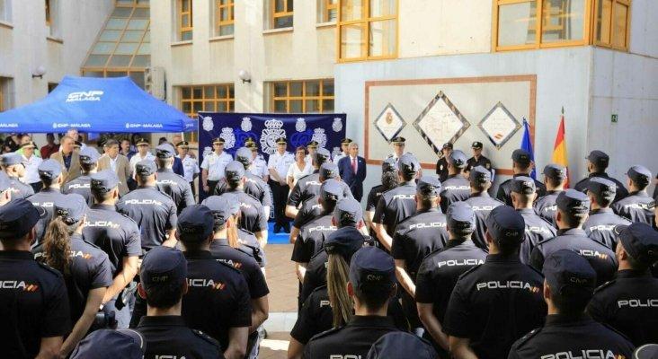 205 policías nacionales en prácticas reforzarán el Plan Turismo Seguro en Málaga | Foto: Málaga hoy