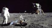 La huella turística del Apolo XI | Foto: LA NASA
