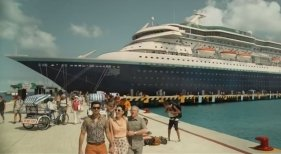 Cinco películas que transcurren a bordo de un crucero | Fotograma del filme 'Yucatán'