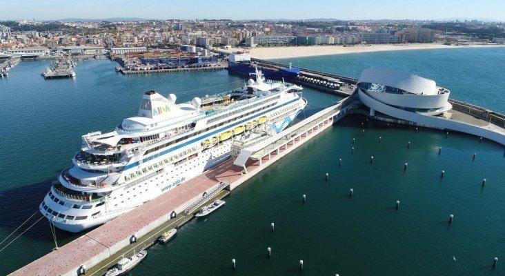 Oporto recibirá el doble de cruceros que Vigo en 2020 | Foto: Puerto de Leixões vía La Voz de Galicia