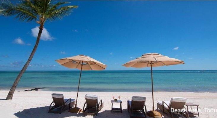 R. Dominicana se consolida como destino para el turismo de lujo | Foto: Área de playa del complejo Tortuga Bay