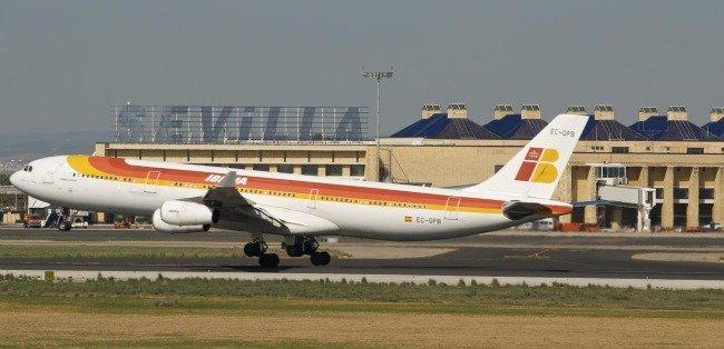 Un avión de Iberia estuvo a punto de colisionar con otro en Sevilla