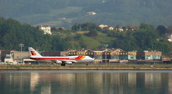 La cumbre del G-7 alterará el tráfico aéreo en España | Foto: Aeropuerto de San Sebastián- viajejet.com