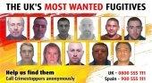 Piden a los británicos que localicen a 11 fugitivos durante sus vacaciones   Foto: NCA