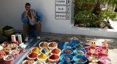 Mercader de especias en Agadir