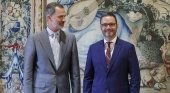 El Rey, al tanto de los deseos de Palma de frenar la llegada de megacruceros | Foto: Felipe VI  y José Hila, alcalde de Palma- EFE vía Diario de Mallorca