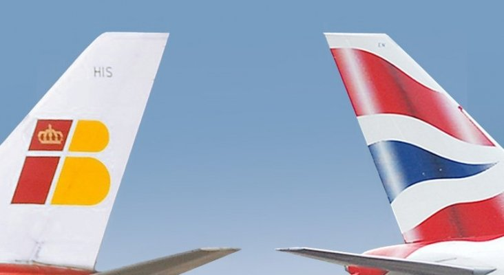 Iberia y British Airways, parte de IAG