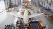 Airbus paraliza toda su producción en España y Francia