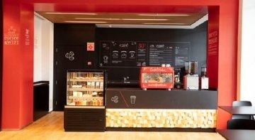 El Banco Santander quiere extender su red de cafeterías por España