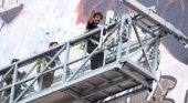 La 'marca España' inunda Nueva York con el mural gigante de Domingo Zapata|Foto: ABC