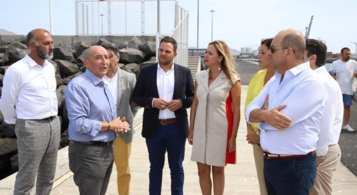 El Muelle de Naos de Arrecife podrá acoger cruceros de grandes dimensiones|Foto: Spanishports