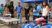 Los drones velarán por la seguridad de todos los bañistas en Fuengirola (Málaga)