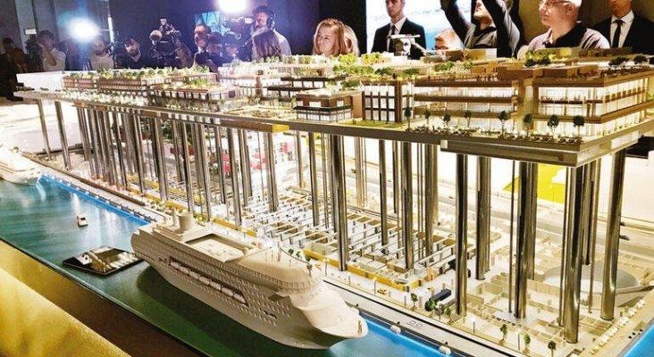 El nuevo puerto de cruceros de Estambul se estrenará en 2020|Foto: Hurryet Daily News