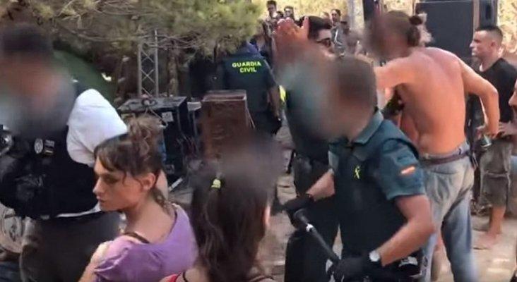 Acusan a la Guardia Civil de desmantelar una fiesta ilegal de Ibiza con porrazos |Foto: NouDiari
