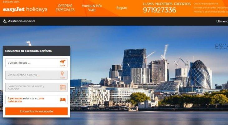 easyJet lanzará su nueva estrategia de touroperación a finales de año