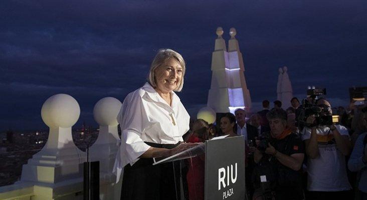 Carmen Riu, consejera delegada de RIU Hotels & Resorts