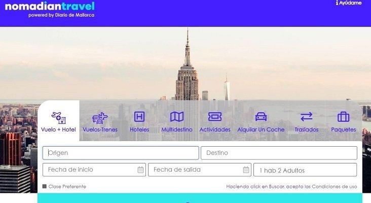 Un periódico de Mallorca lanza una agencia de viajes online