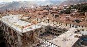 Ordenan demoler un hotel en construcción, por haber destruido muros incas | Foto: AFP vía Página 12
