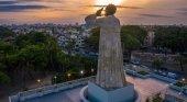 La rehabilitación de dos enclaves turísticos dispara las visitas a Santo Domingo | Foto: Monumento a Fray Antonio de Montesino- El Nuevo Diario