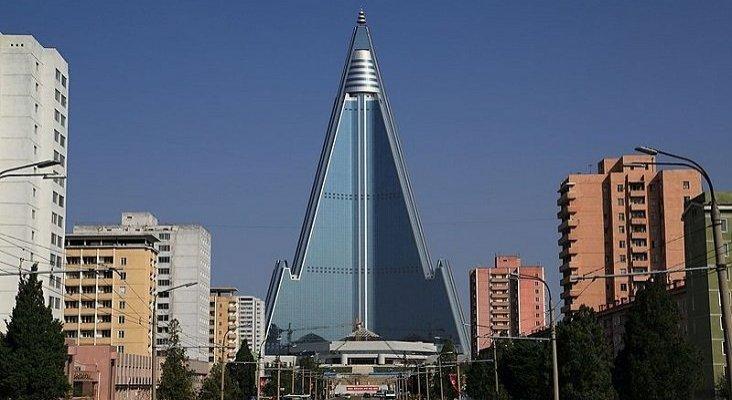 El hotel maldito de Corea del Norte que nunca ha tenido inquilinos | Foto: Martin Cígler (CC BY-SA 3.0)