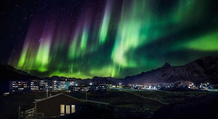 Northern lights in Greenland (14990374447)