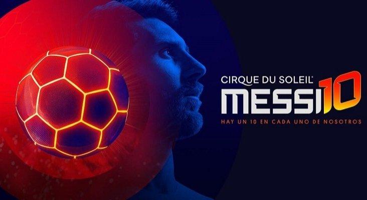 El fútbol de Messi inspira a Cirque du Soleil   Foto: Cirque du Soleil