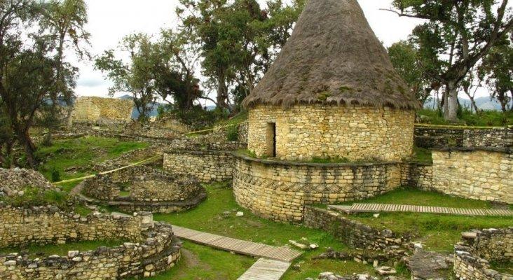 Fortaleza de Kuelap, en Chachapoyas (Perú)