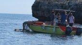 Más de 700.000 plásticos han sido retirados de aguas baleares en 15 años | Foto: Retirada de basura en aguas baleares