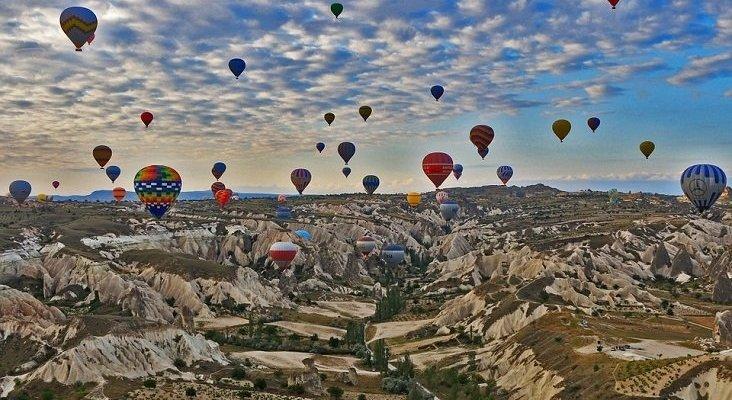 Turquía anuncia sus planes para no depender tanto de la touroperación   Foto: Capadocia, Anatolia Central (Turquía)