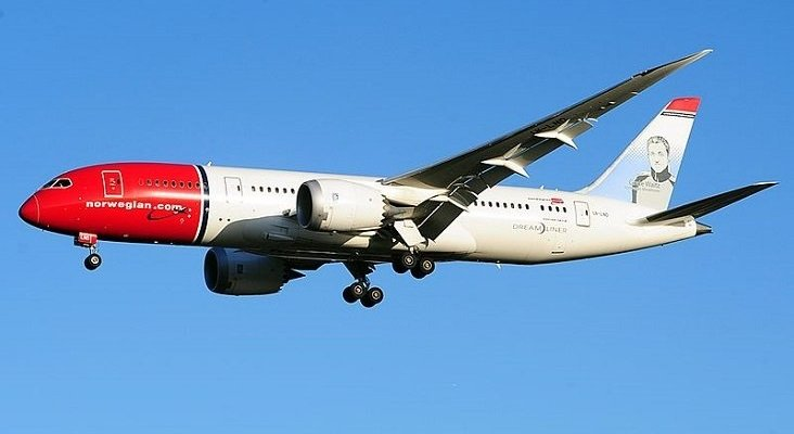 El empleo de un centenar de pilotos de Norwegian en España, en peligro | Foto: Steven Byles (CC BY-SA 2.0)