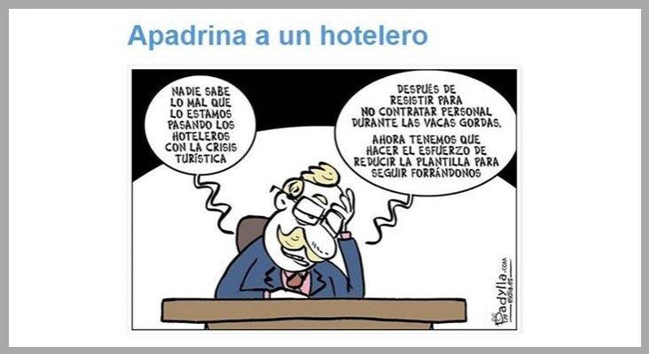 Una viñeta indigna al sector hotelero de Canarias | Foto: padylla.com