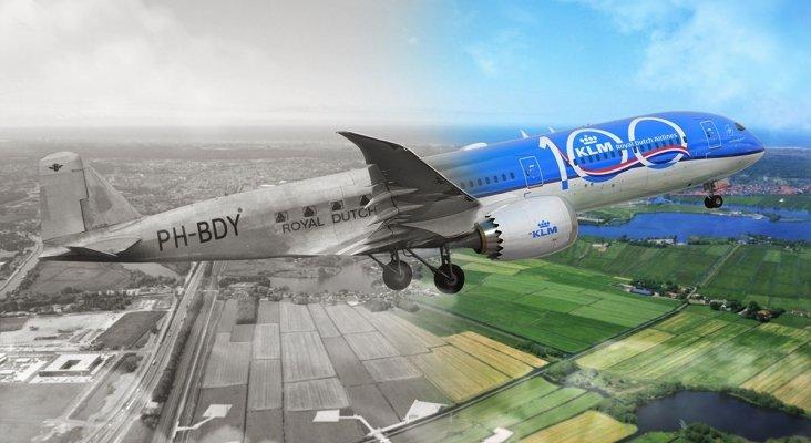 100 años de KLM, la aerolínea más antigua del mundo