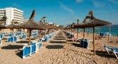 Las playas españolas están desiertas según la prensa británica Foto: Sunday Express