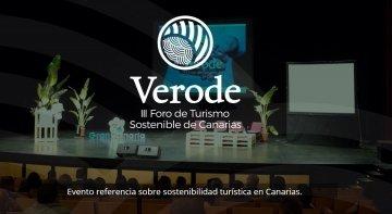 Llega la III Edición de Verode Foro de Turismo Sostenible de Canarias