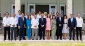 Matutes, Fluxà y Piñero se reúnen con el presidente de R. Dominicana