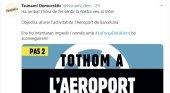 """Llaman a """"ocupar"""" el aeropuerto de Barcelona"""