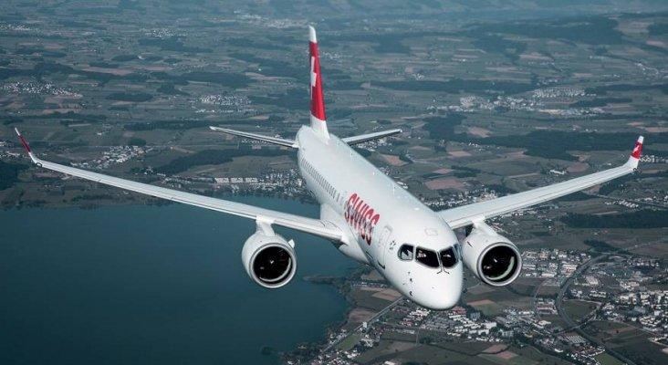 Bombardier CS-100 de Swiss
