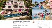 La casa de Barbie, disponible en Airbnb