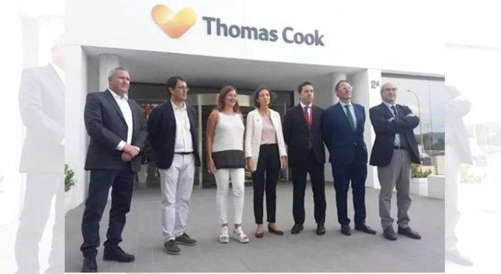 Hays Travel también quiere comprar el receptivo de Thomas Cook en Baleares |Foto: Reyes Maroto, ministra de Turismo (centro) y Francina Armengol, presidenta de Baleares (3ª por la izq.) vía Europa Press