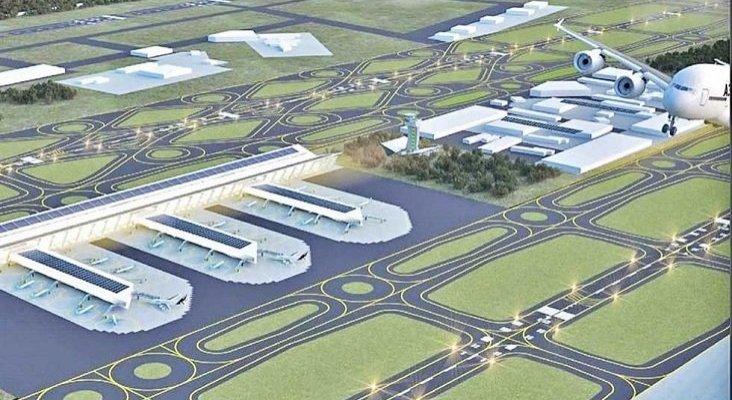 CDMX inicia las obras de su nuevo aeropuerto dejando las de Texcoco inacabadas  | Foto: laopinionpuebla.com
