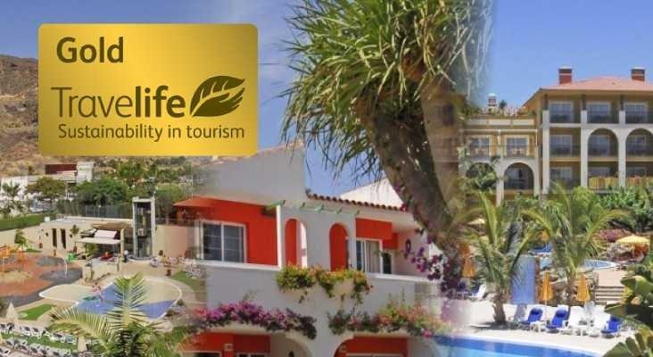 Tres establecimientos de beCordial Hotels & Resorts ostentan el certificado Travelife Gold