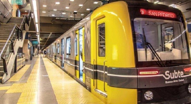 El metro de Buenos Aires denuncia al de Madrid por la venta de vagones con amianto | Foto: buenosaires.gob.ar