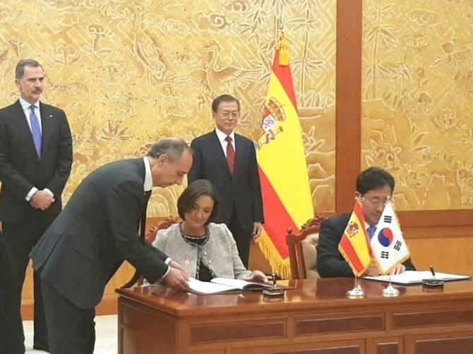 España y Corea del Sur firman un acuerdo para reforzar la cooperación turística|Foto: EmpresaExterior.com