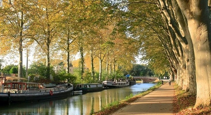 Zaragoza y Toulouse se alían para promocionarse conjuntamente| Foto: Canal du Midi, Toulouse